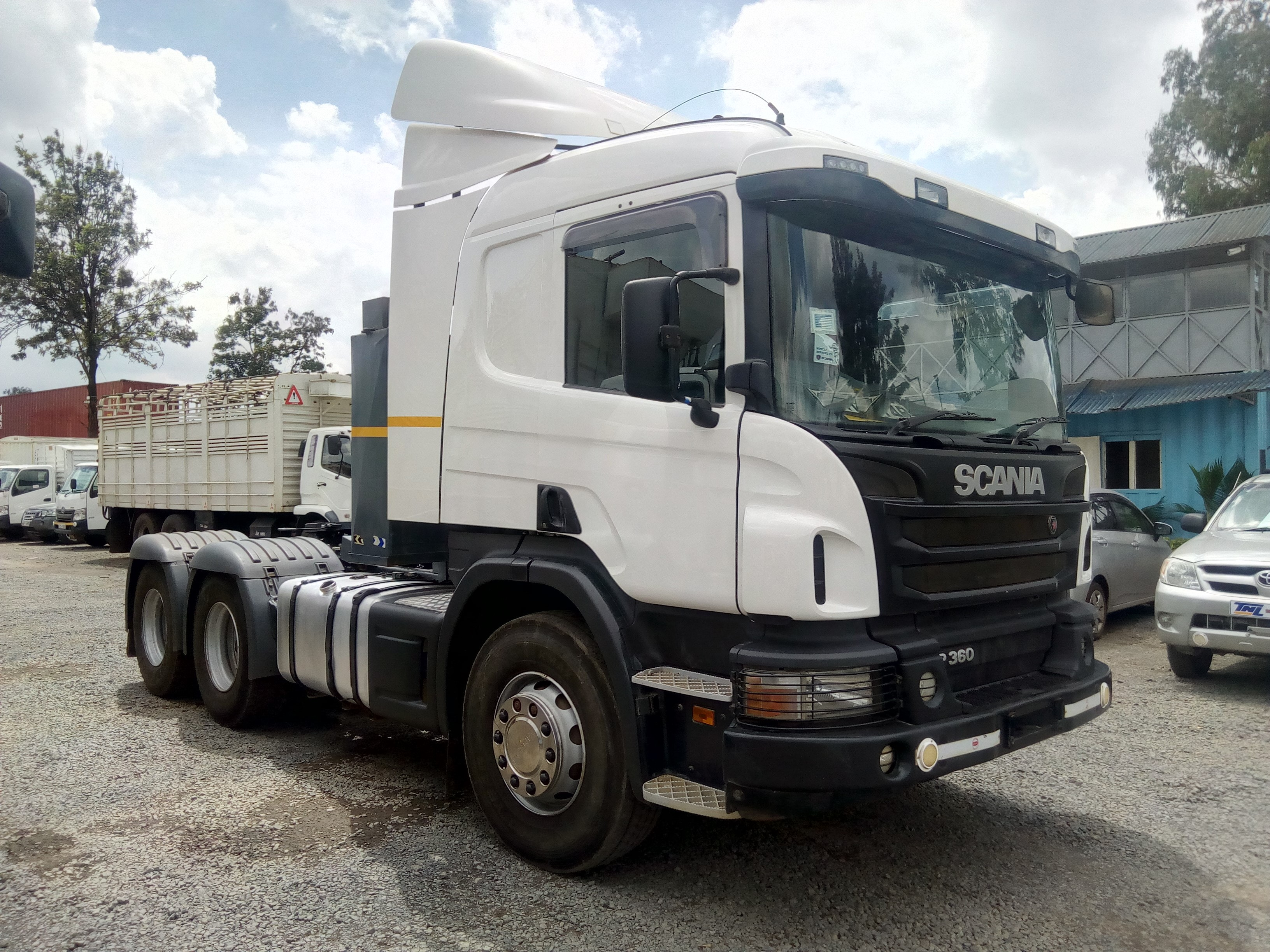 Scania P360 | Transport And Lifting Services / Tnl